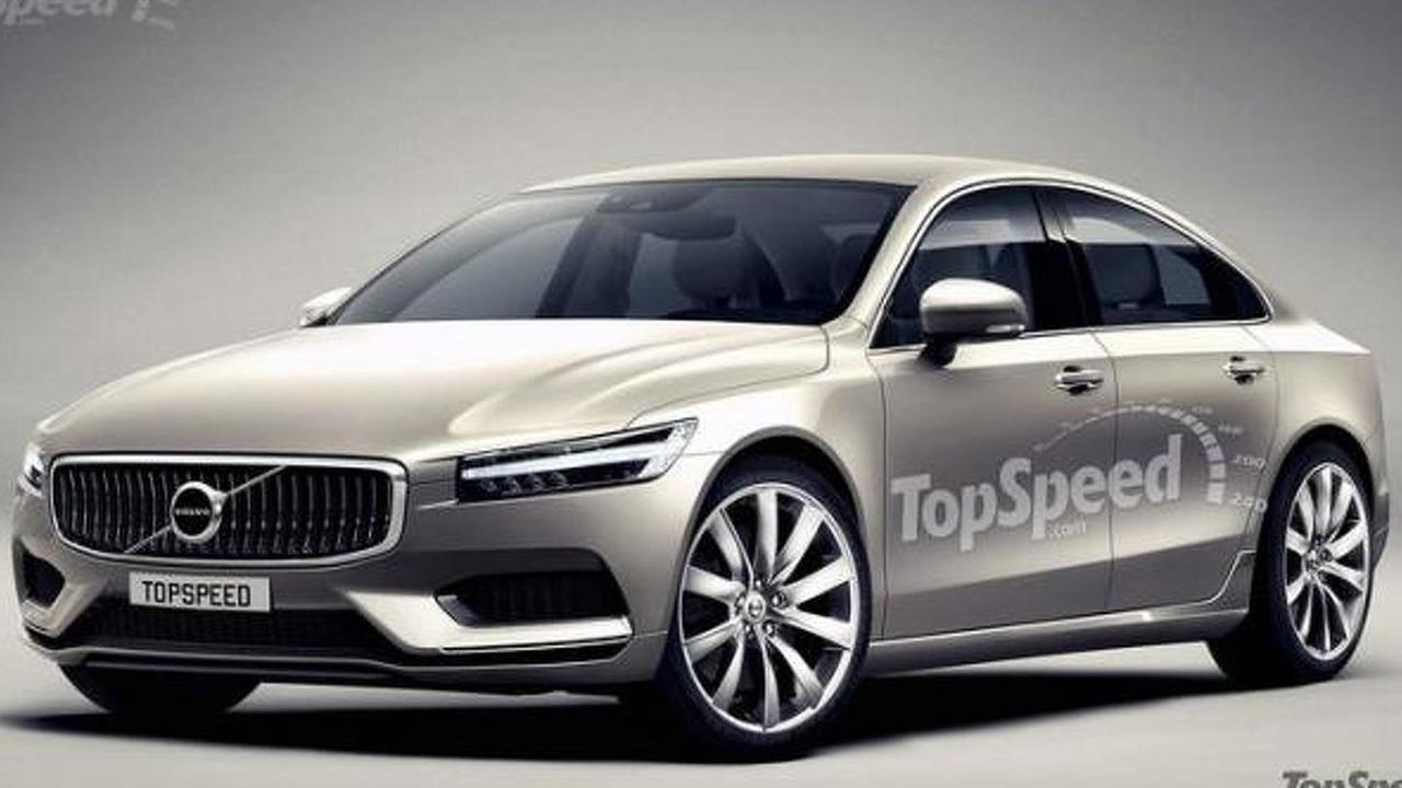 Volvo S90 render