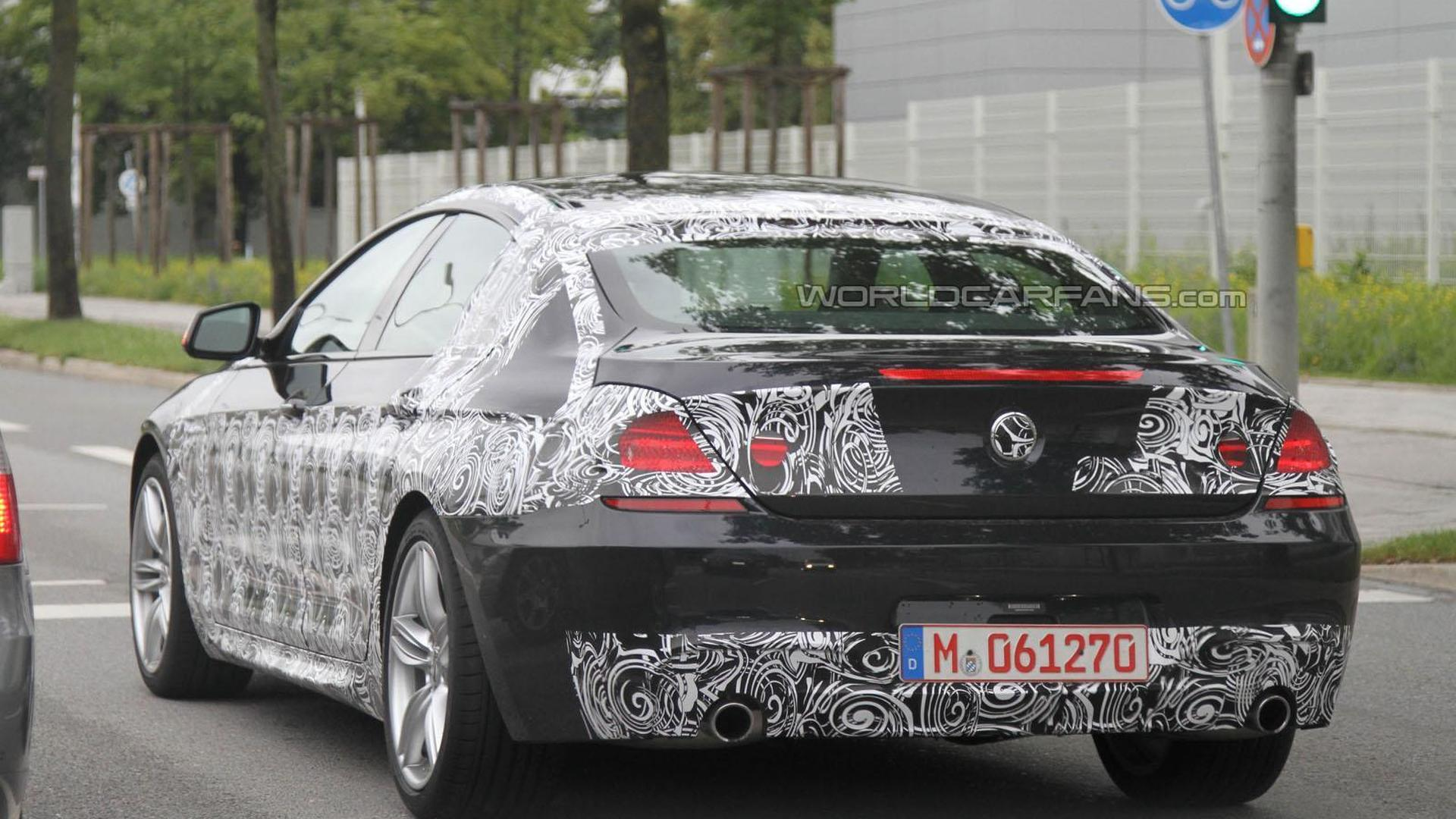 BMW Series Gran Coupe Spied With The MPackage - Bmw 6 series 2011