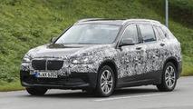 BMW X1 seven-seater spy photo
