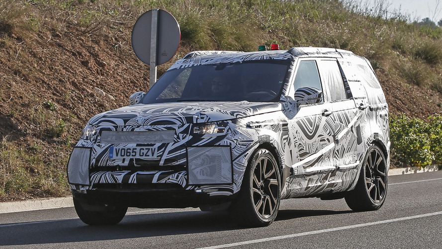 Land Rover could be working on a rugged Discovery SVX