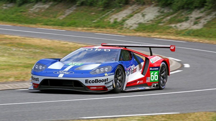 Ford célèbre le retour de la GT en course en vidéo