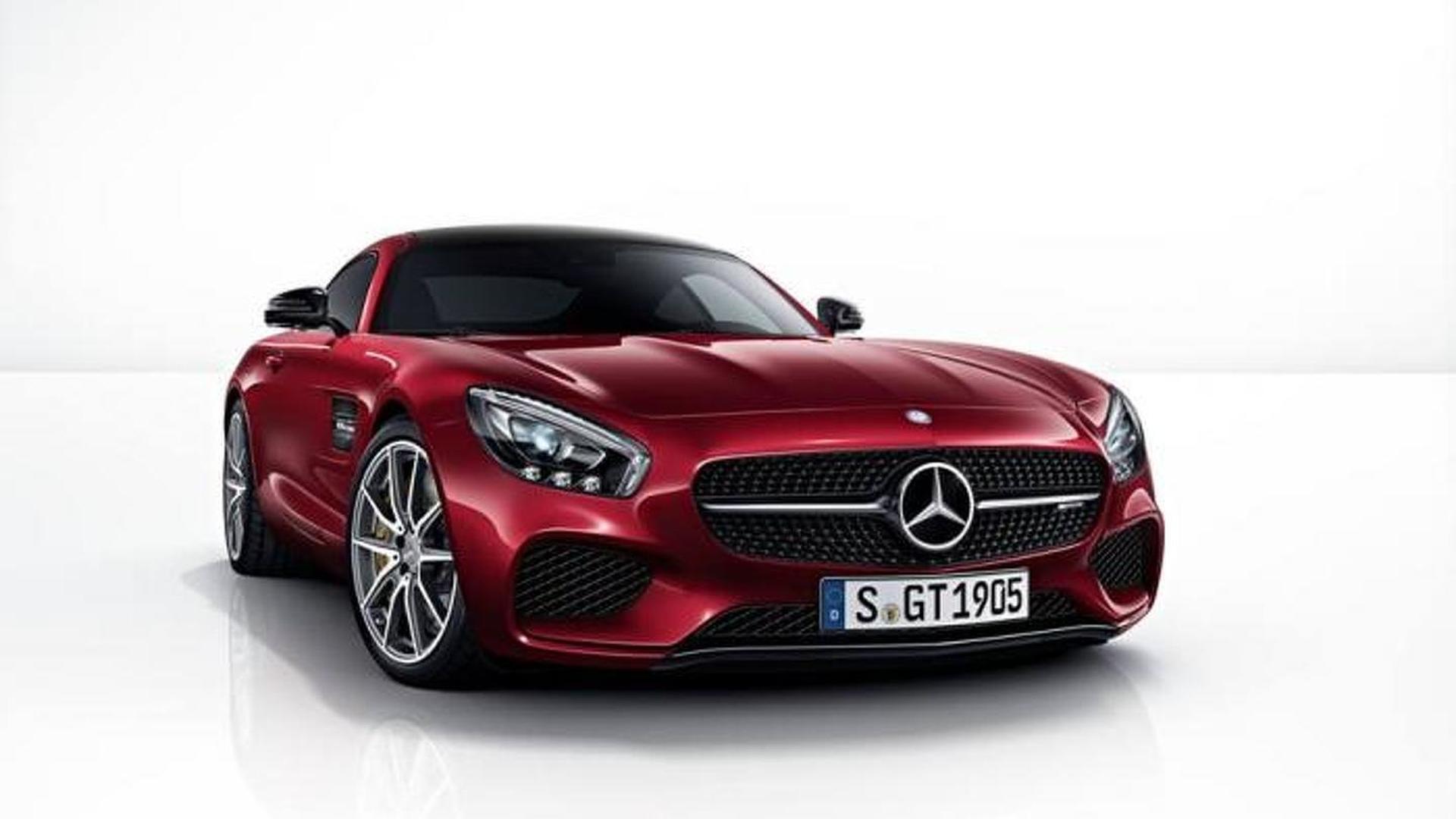 Mercedes shows off the amg gt color palette for Mercedes benz color