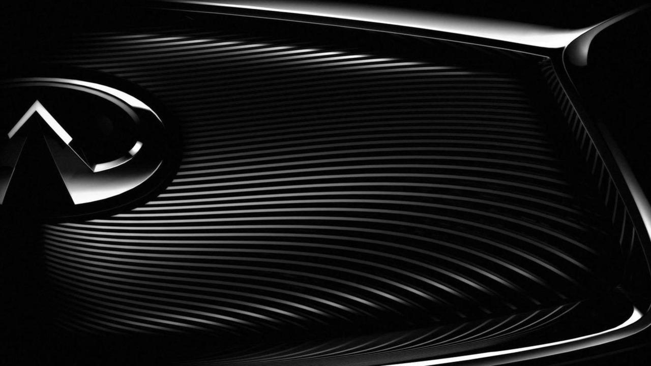 Infiniti teaser image for 2014 Paris Motor Show