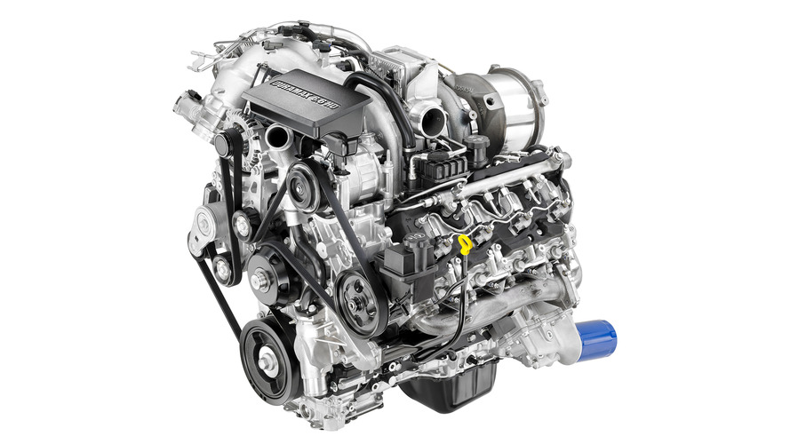 Duramax turbodiesel engine