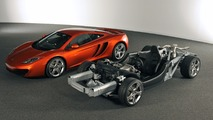 McLaren MP4-12C rolling chassis - 2
