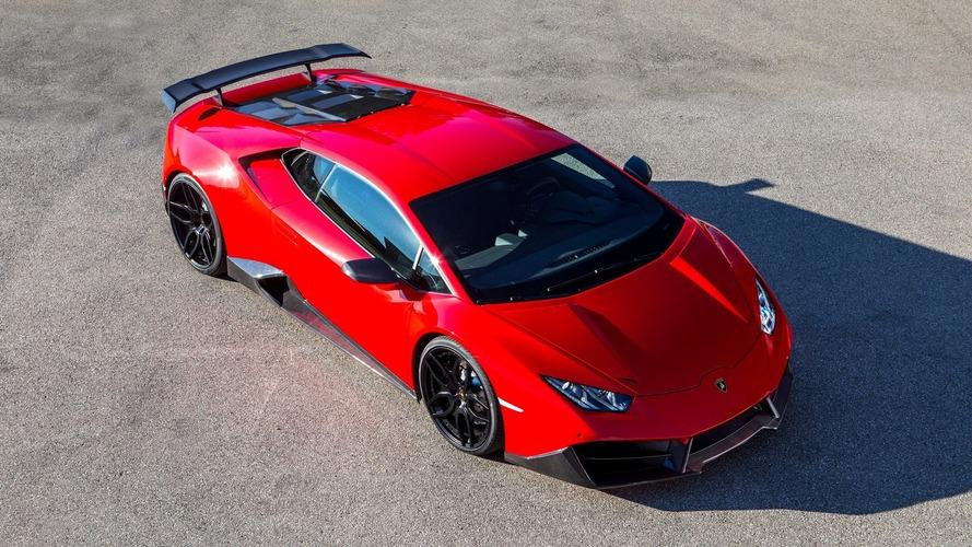 Supercharged Lamborghini Huracan sends 830 hp to rear wheels