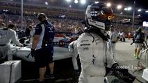 Valtteri Bottas, Williams Martini Racing, on the grid