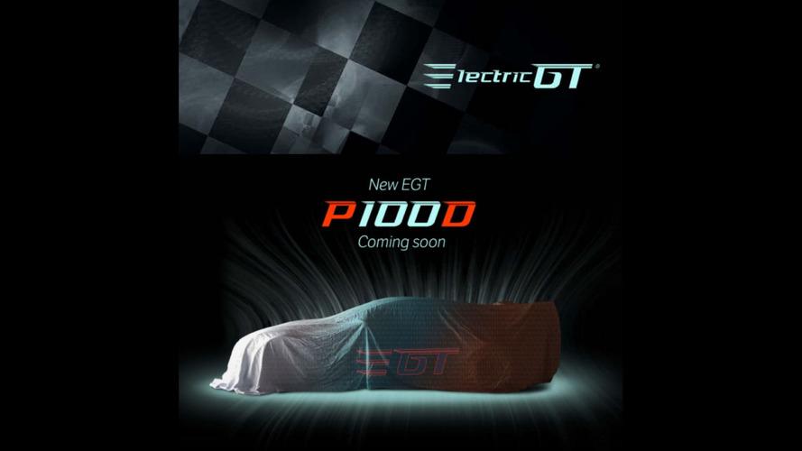 Tesla Electric GT serisinde yarışacak P100D'nin teaser'ı