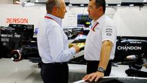 Ron Dennis and Eric Boullier, McLaren