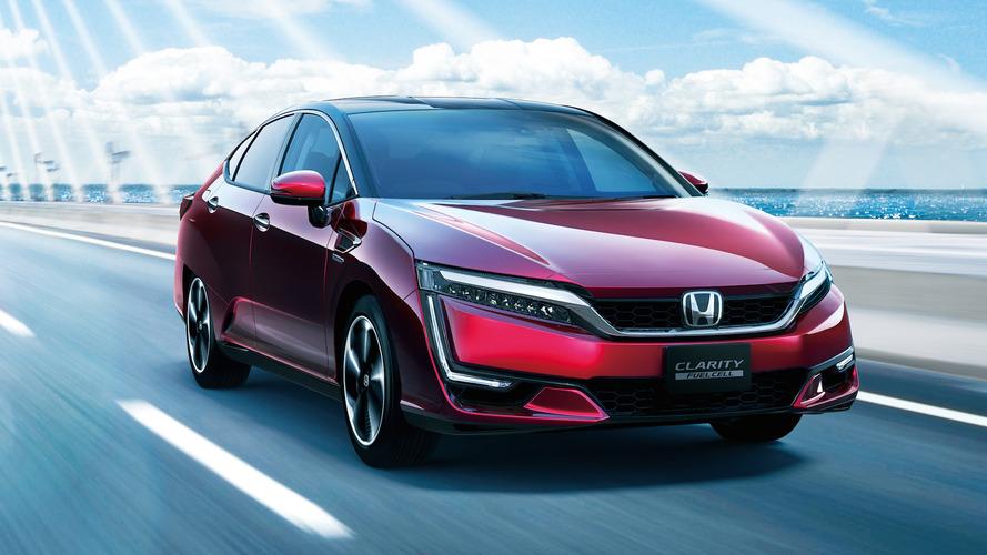 Honda Clarity hydrogen fuel-cell range beats the best Model S