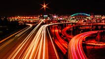 Nighttime Traffic in Seattle