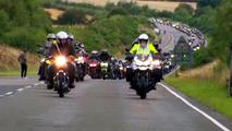 Dünyanın en uzun Triumph motosiklet geçidi