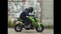 Kawasaki oficializa a pequena Z125 - veja galeria de fotos