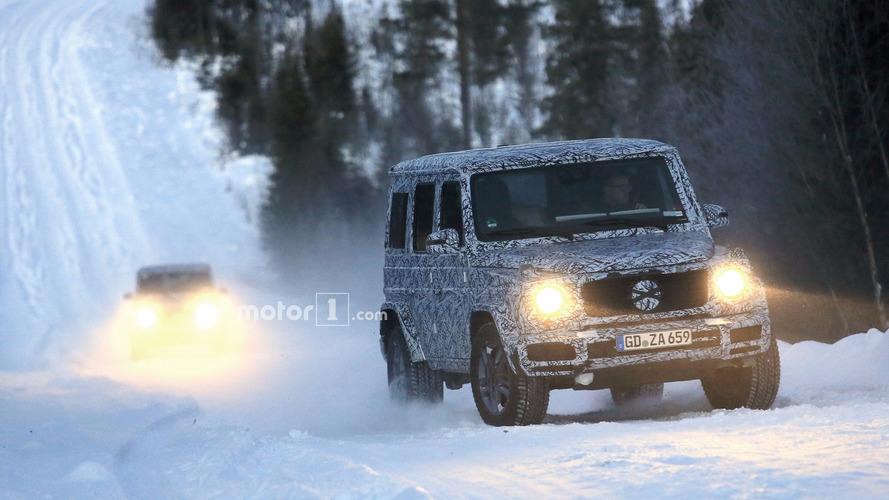 2018 Mercedes G-Class and G63 spy photos