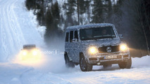 2018 Mercedes G-Class and G63 spy photos
