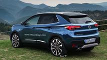 Opel Grandland X - Et si il ressemblait à ça?