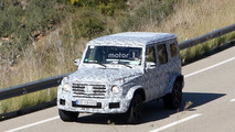2019 Mercedes-AMG G63 spy photos