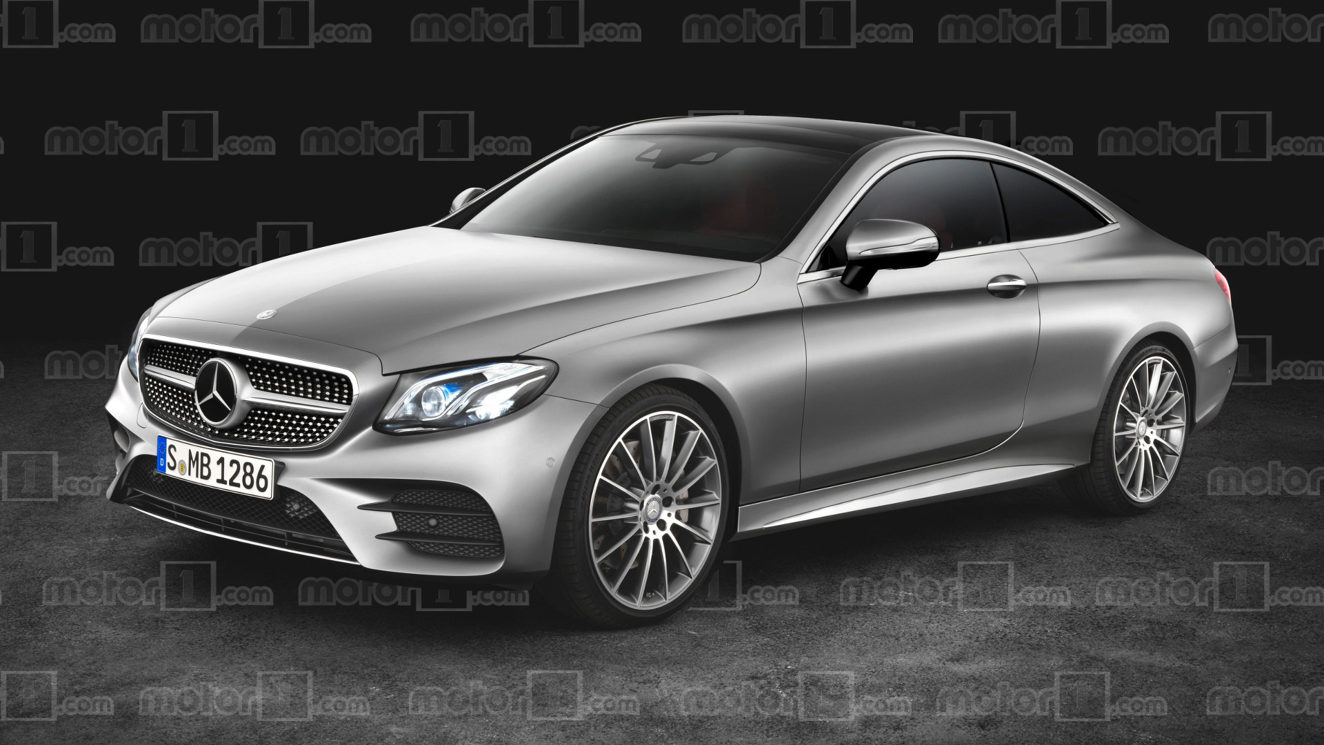 2018 Mercedes EClass Coupe gets rendered