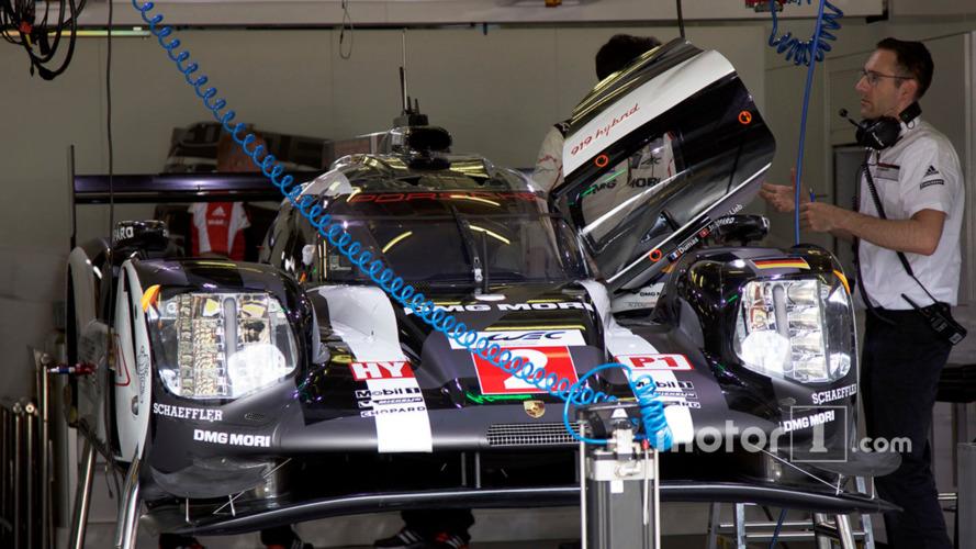 Revealed: Wraps come off Porsche's new-look LMP1 aero kit