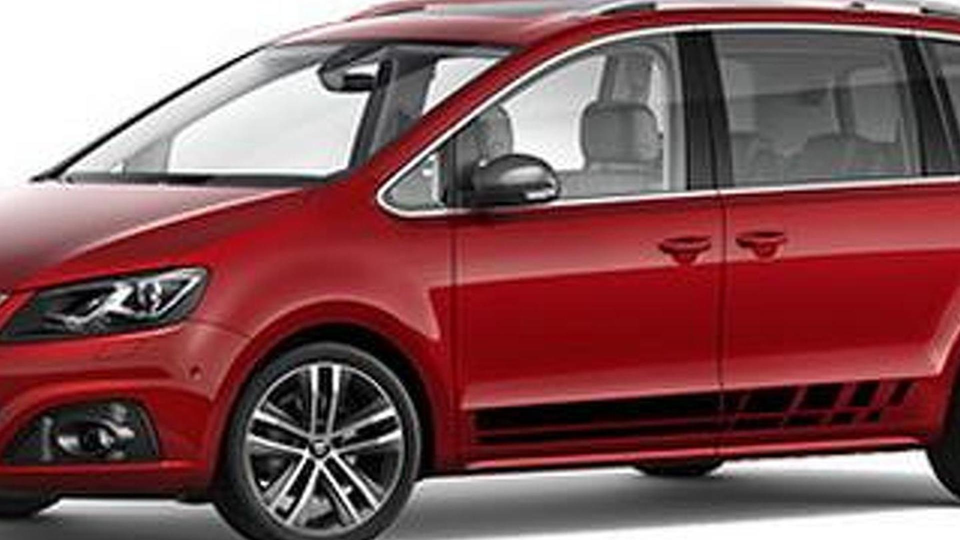 seat alhambra fr line announced with sporty accents. Black Bedroom Furniture Sets. Home Design Ideas
