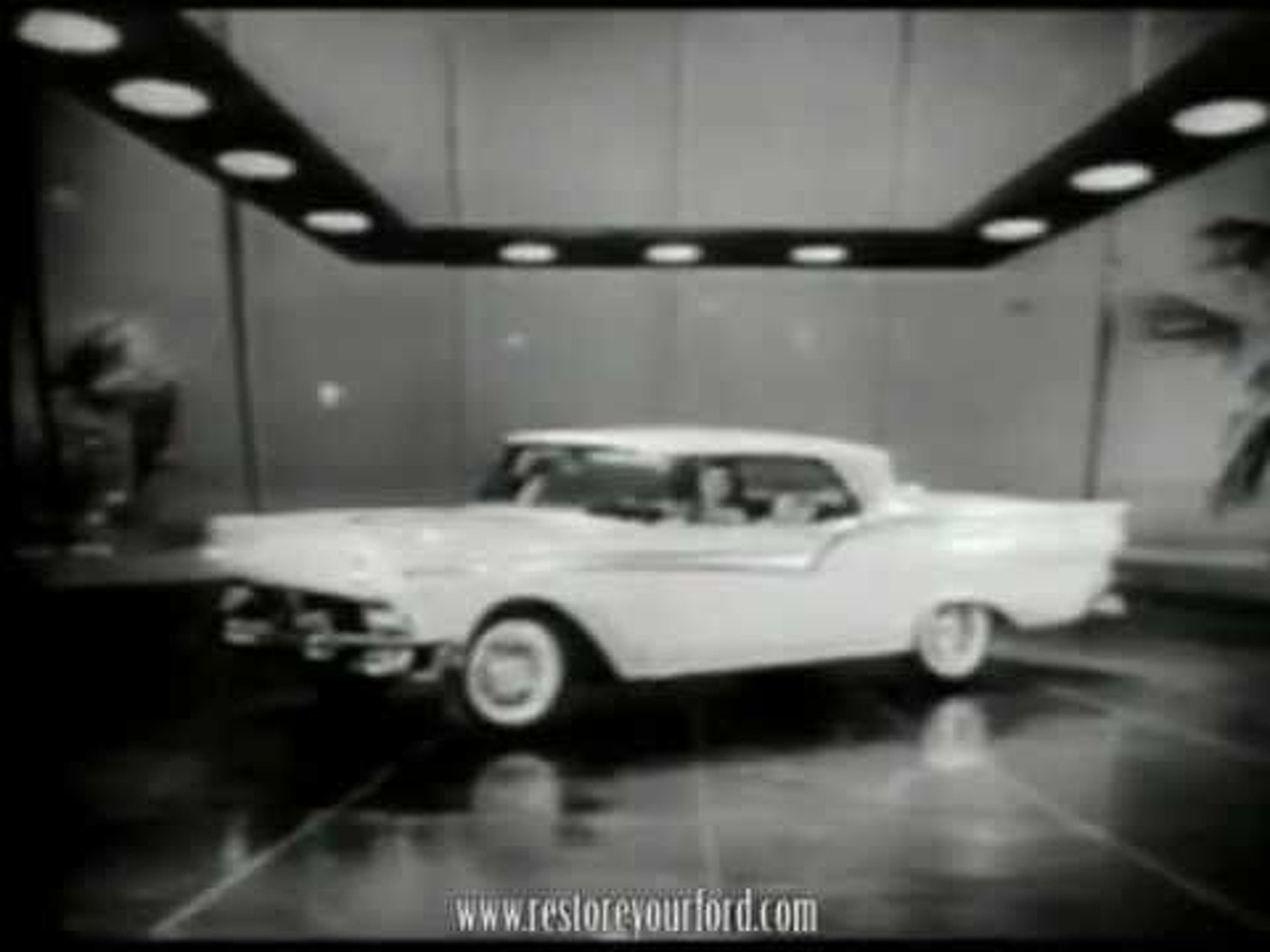 Tennessee Ernie Ford Presents the 1957 Ford Fairlane 500 Skyliner