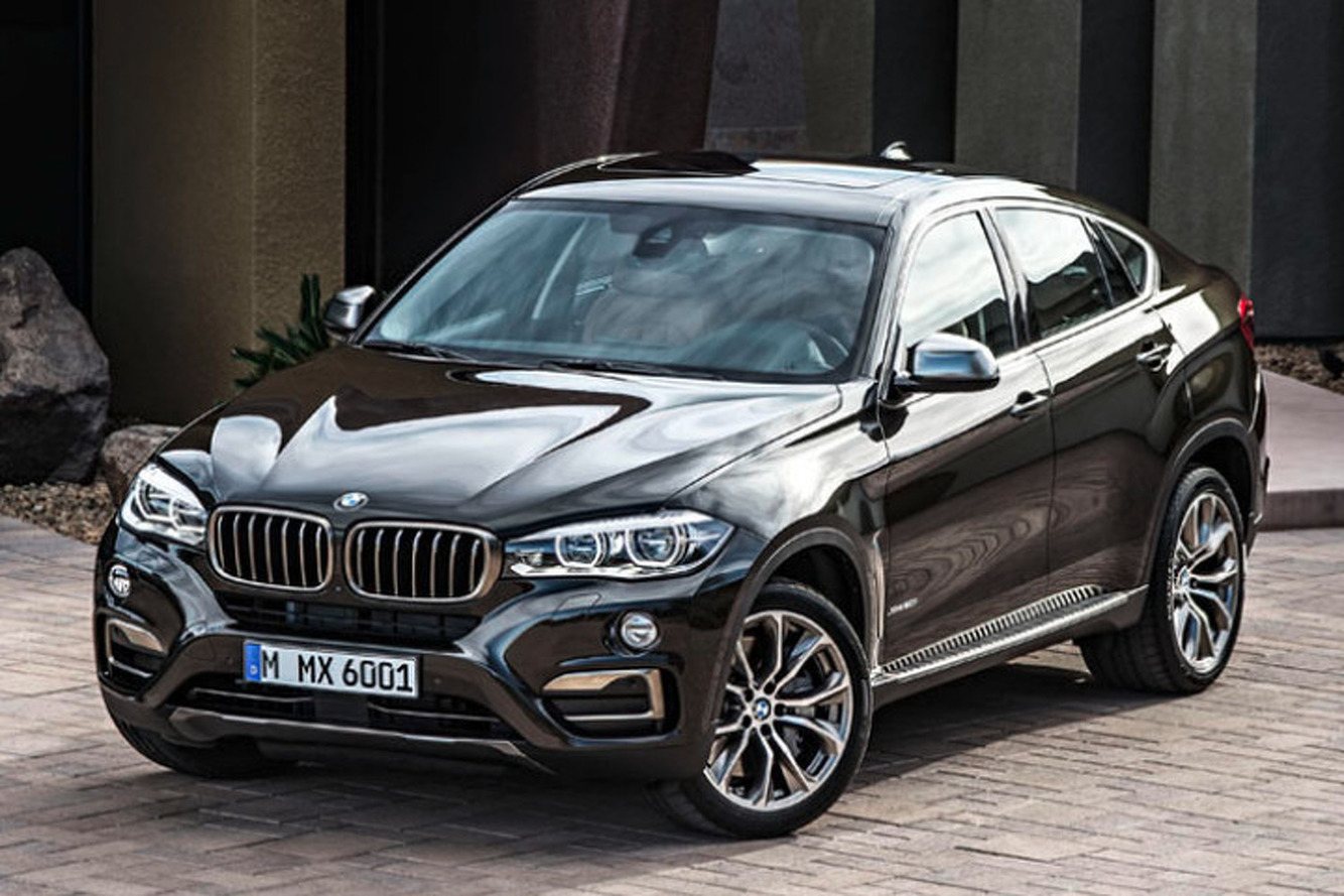 2015 BMW X6 Is Here To Rule the Country Club