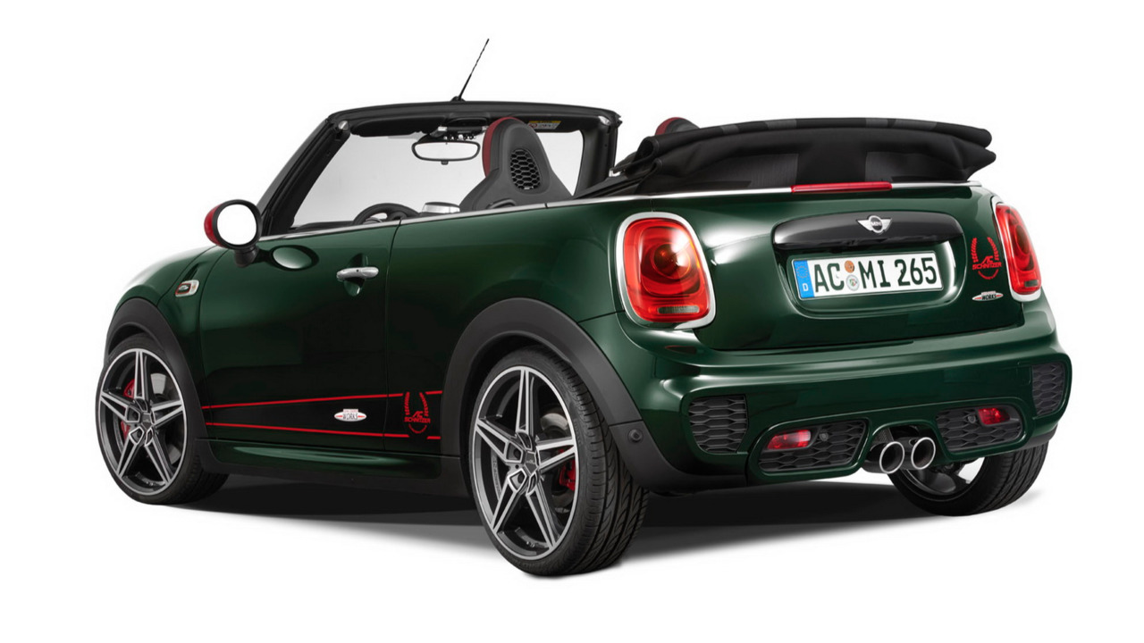 la mini cabrio john cooper works par ac schnitzer. Black Bedroom Furniture Sets. Home Design Ideas
