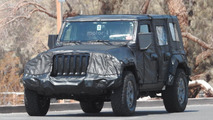 Jeep Wrangler photos espion 2018