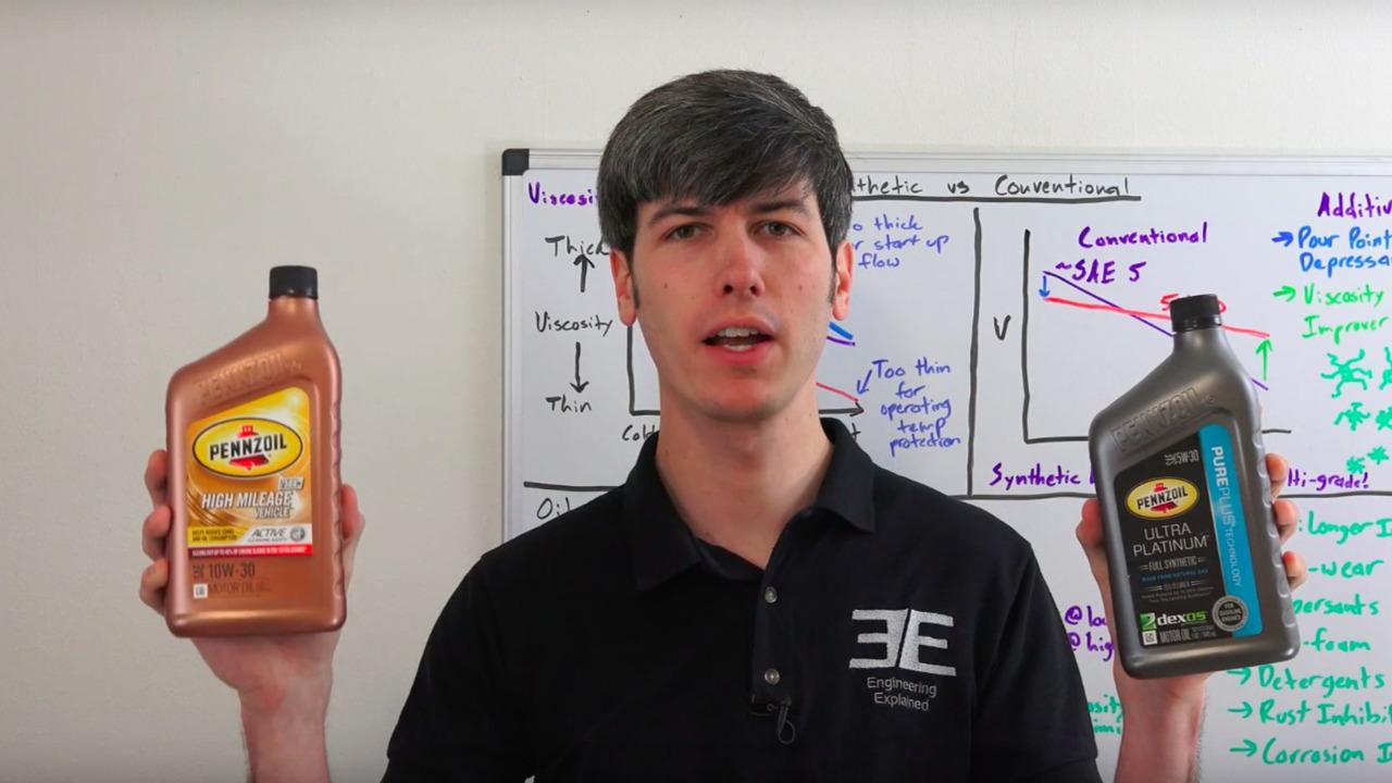 Engineering Explained on motor oils