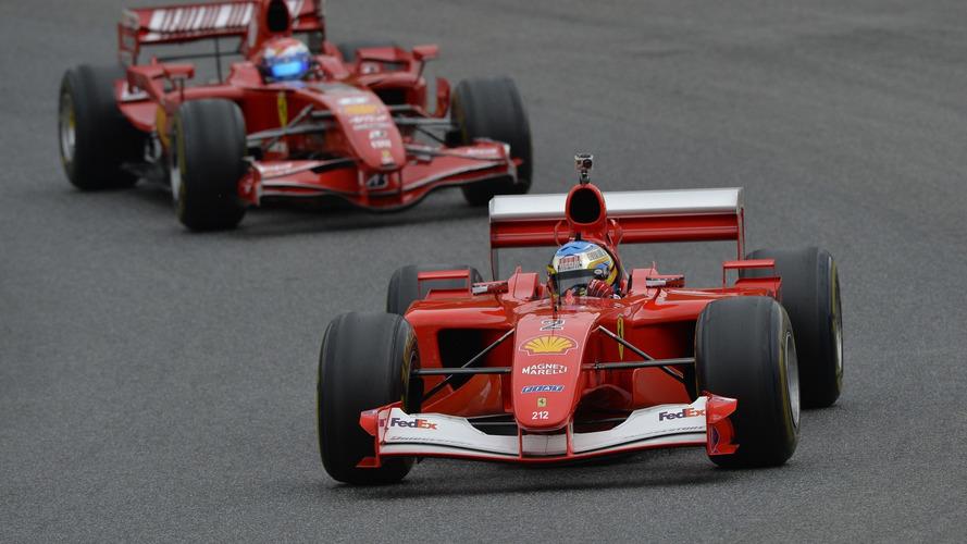 Ferrari F1 Clienti and the XX Programmes at Mugello track