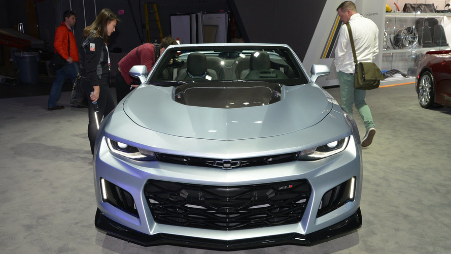 2017 Chevy Camaro ZL1 Convertible