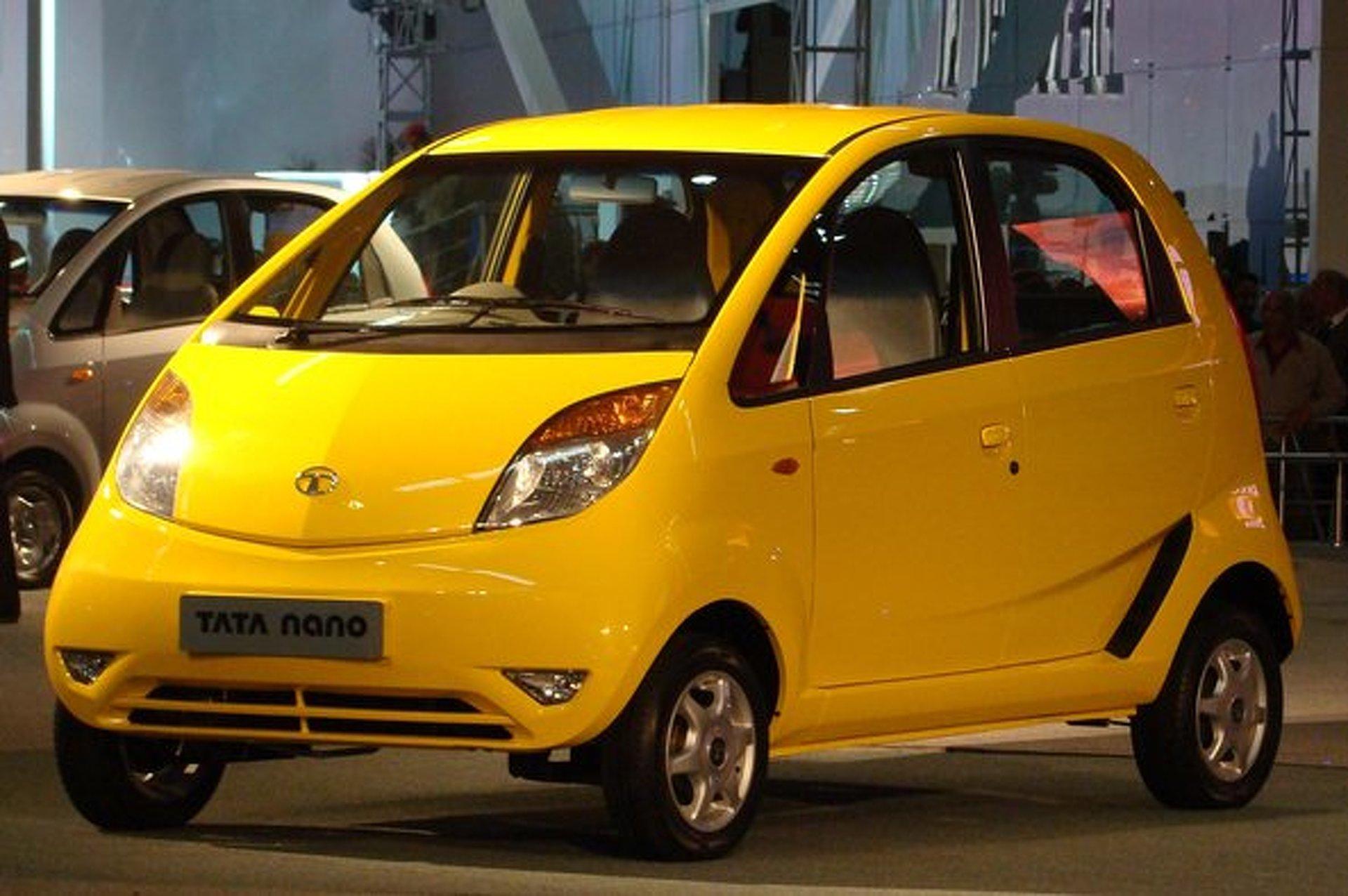 Tata Motors Bringing Nano Minicar Stateside