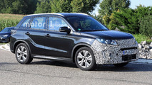 Suzuki Vitara Refresh Spy Shots