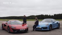 McLaren 540C vs Porsche 911 Turbo S