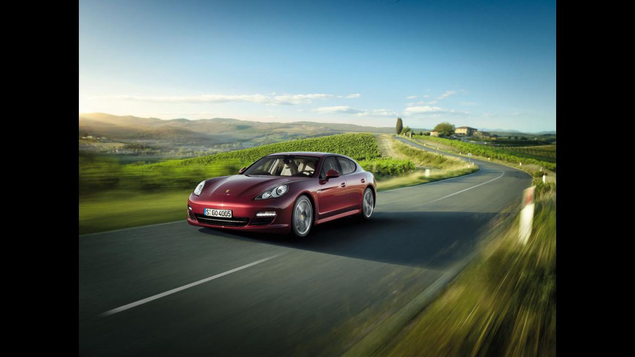 Porsche Panamera e Panamera 4