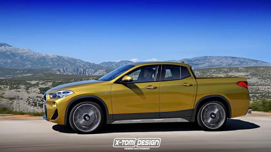 BMW X2 Pickup / Cabrio Renderings