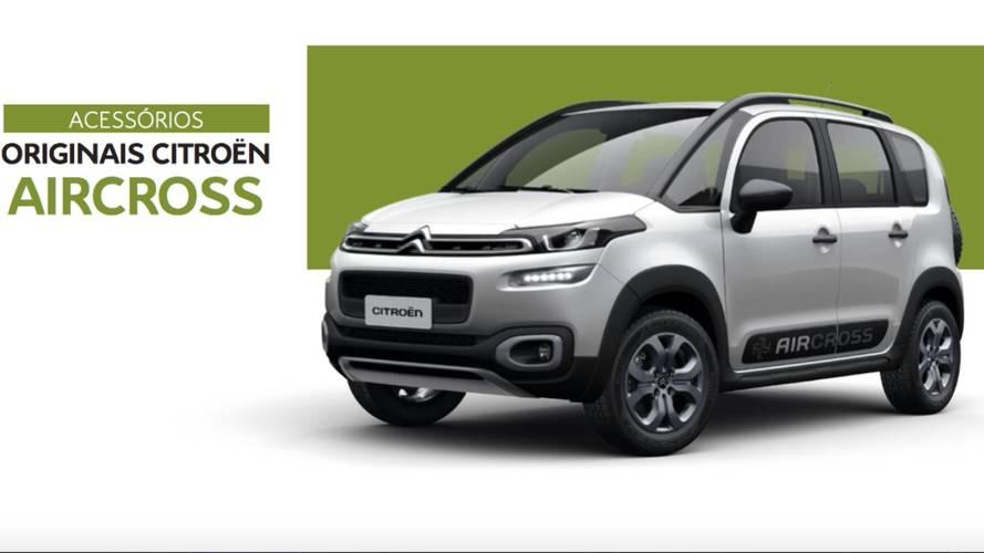 Citroën lança linha de acessórios para C3, C4, Aircross e Jumpy