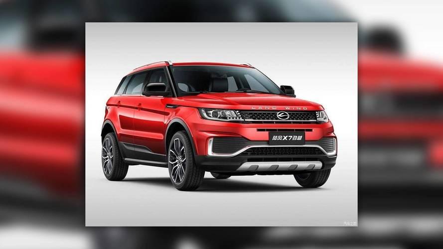 Frissült a kínai Range Rover klón, de a hasonlóság még mindig szembetűnő