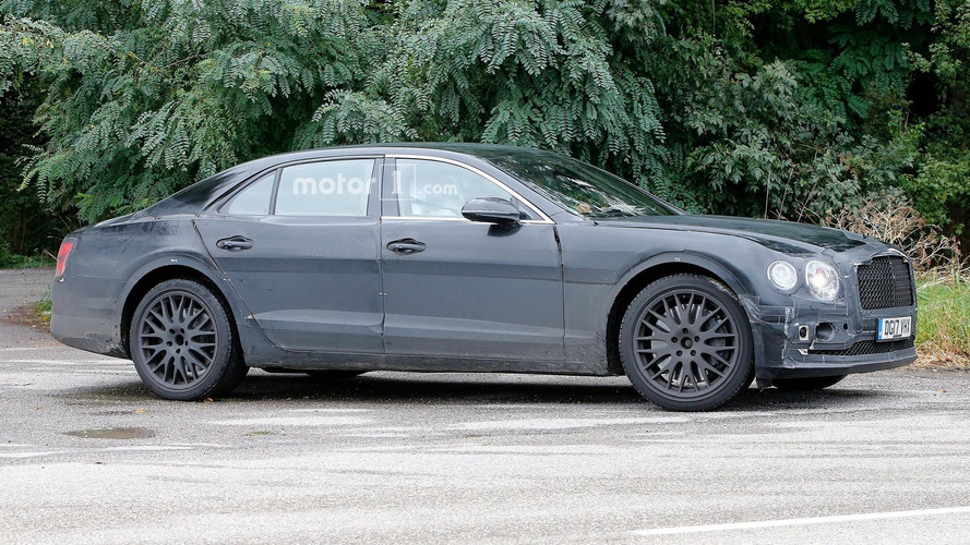 Bentley prépare la nouvelle Flying Spur