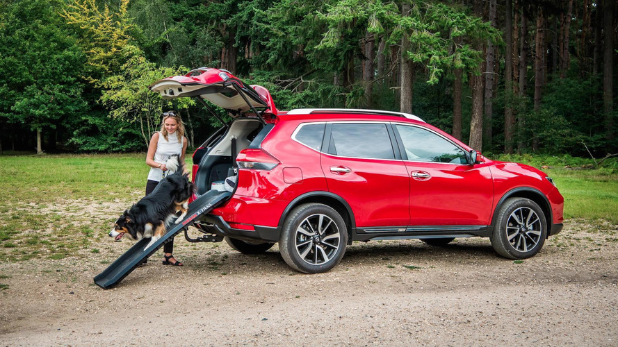Nissan X-Trail Adds 'Paw Pack' In U.K. For Canine Adventures