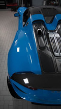 Porsche 918 Spyder Riviera Blue with Weissach Package