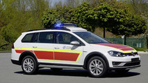 Volkswagen Golf Alltrack command car for RETTmobil