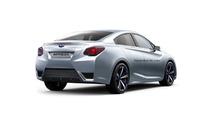 Subaru Impreza Sedan Concept render