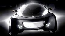 Mitsubishi i MiEV SPORT AIR concept illustration
