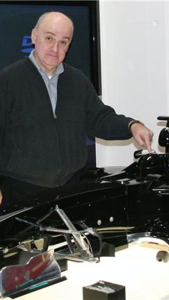 Stefan GP, Stefanovic with S-01 wind tunnel model - 348