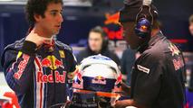 Daniel Ricciardo (AUS), Tests for Red Bull Racing, 03.12.2009 Jerez, Spain