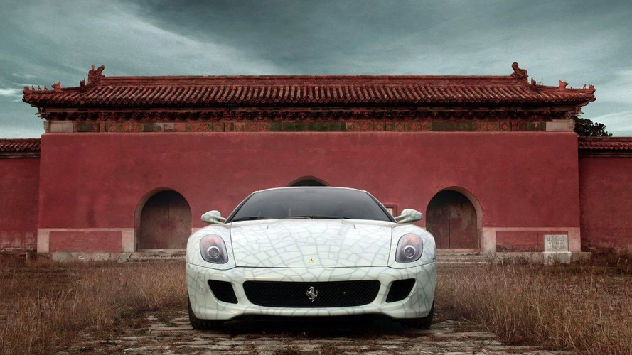 Ferrari 599 China Edition Auctioned in Beijing for 1.2 Million Euros