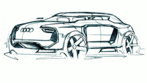 Audi Intelligent Emotion future mobility concept sketch by Fabian Weinert