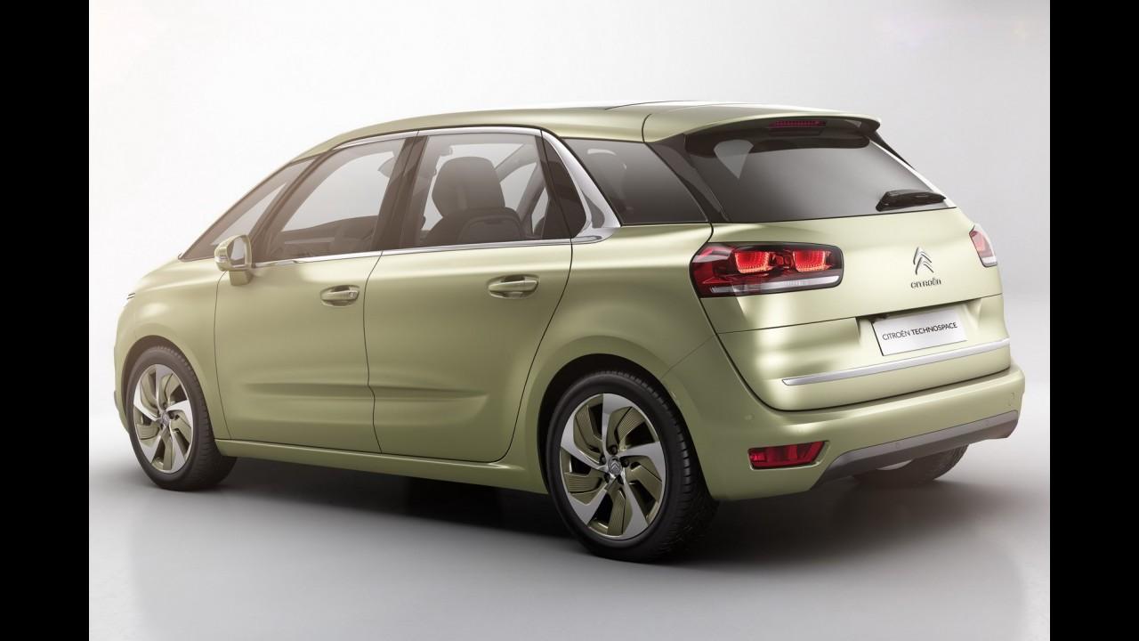 Citroën mostra detalhes da Technospace Concept, que antecipa nova C4 Picasso