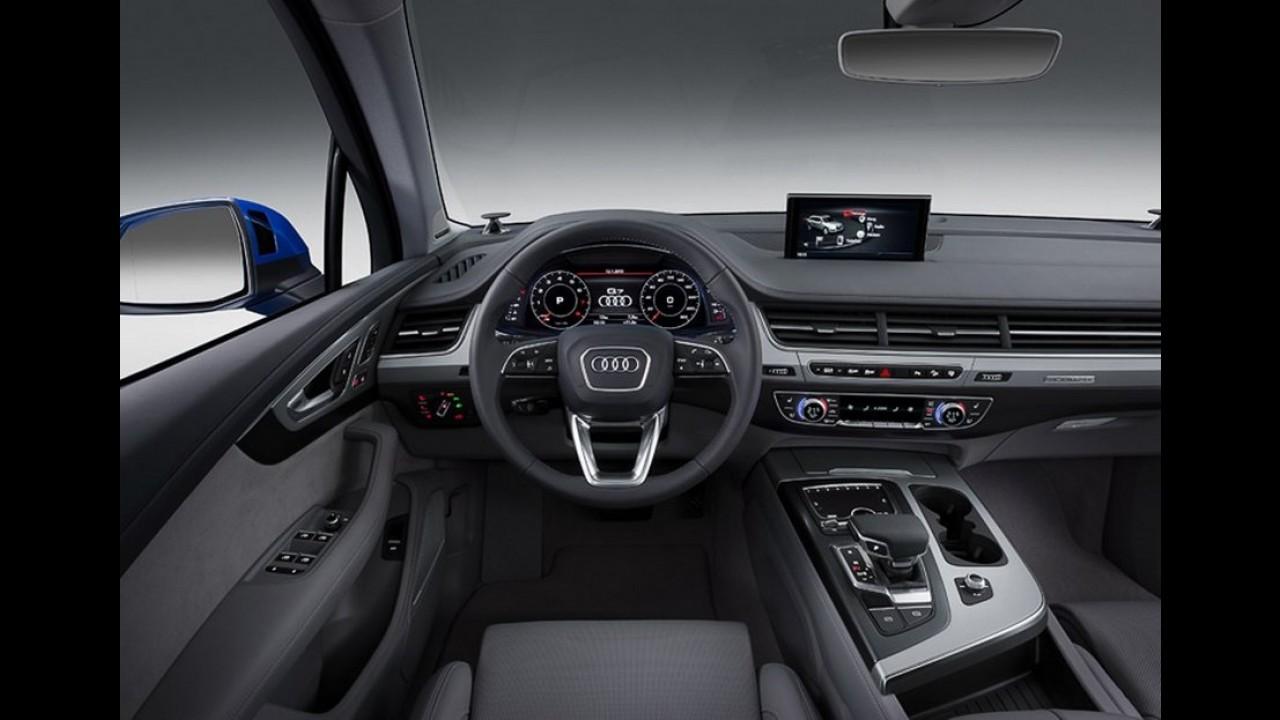 Novo Audi Q7: primeiras fotos oficiais vazaram na internet